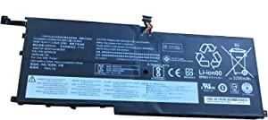 Dentsing 00HW029 (15.2V 52Wh/3290mAh 4-Cells) Laptop Battery Compatible with Lenovo ThinkPad X1 Carbon 4th Gen Series Notebook 00HW029 00HW028 SB10F46467 01AV409 01AV410