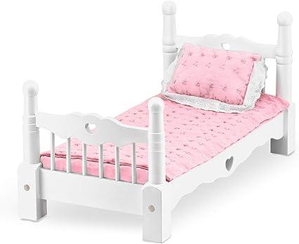 Melissa /& Doug Wooden Play Bed