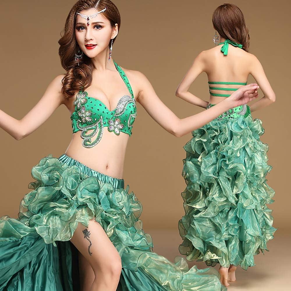 BT-SKIRT Conjunto de Traje de Danza del Vientre para Las Mujeres ...