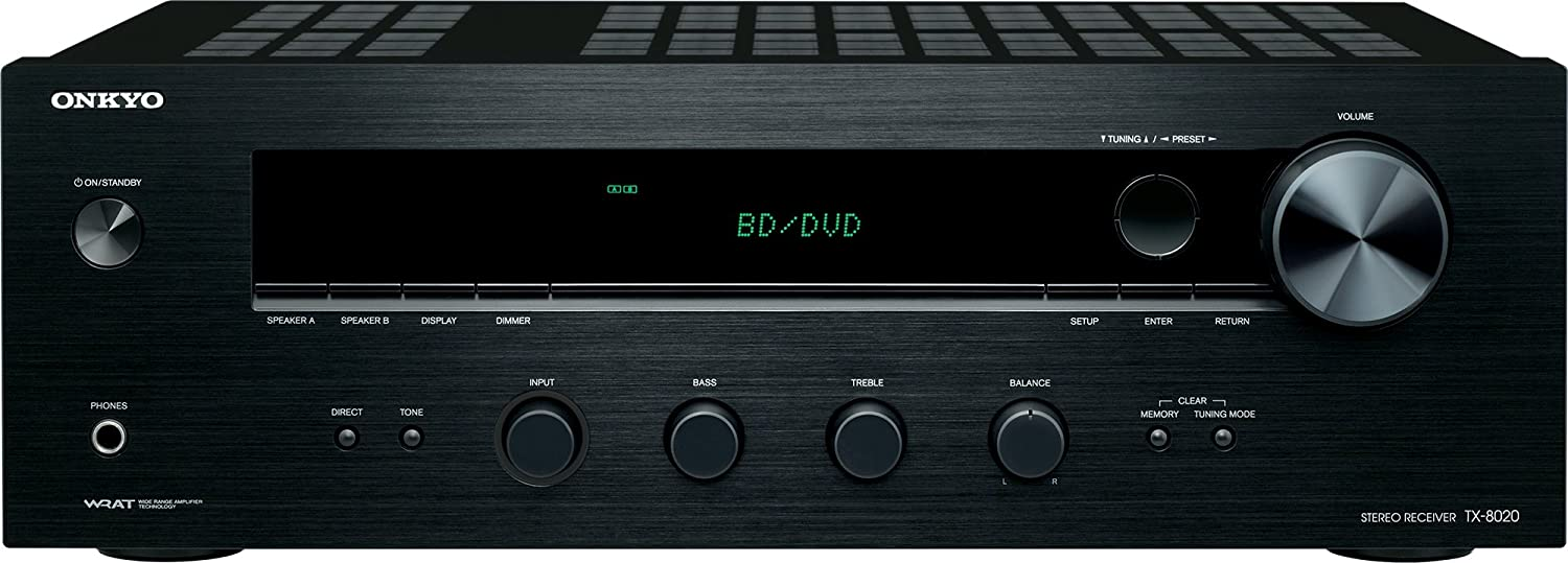 Onkyo TX-8020: Sweet midrange, accurate playback, wireless streaming