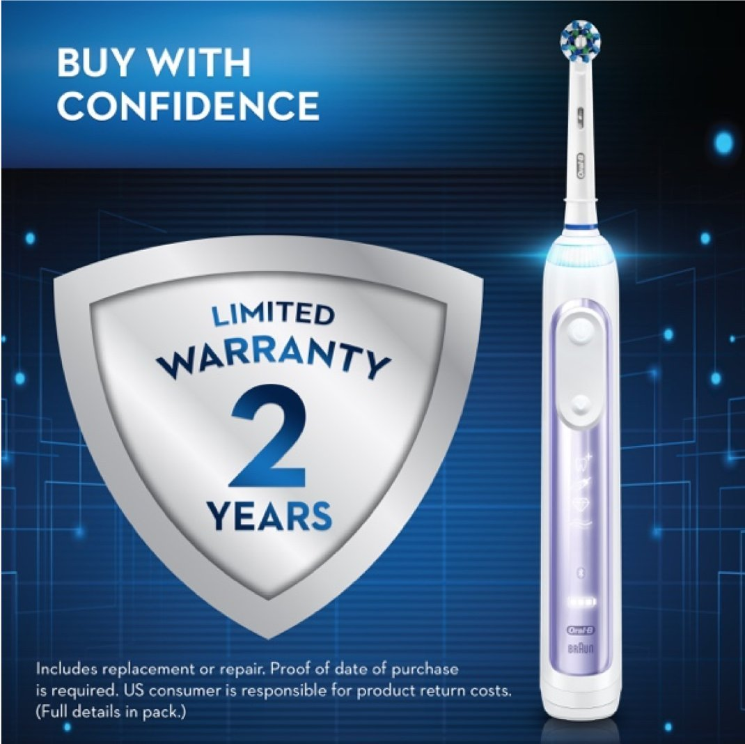 Oral-B Pro 7500 Power Rechargeable Electric Toothbrush, Amazon Dash Replenishment Enabled by Oral-B (Image #14)