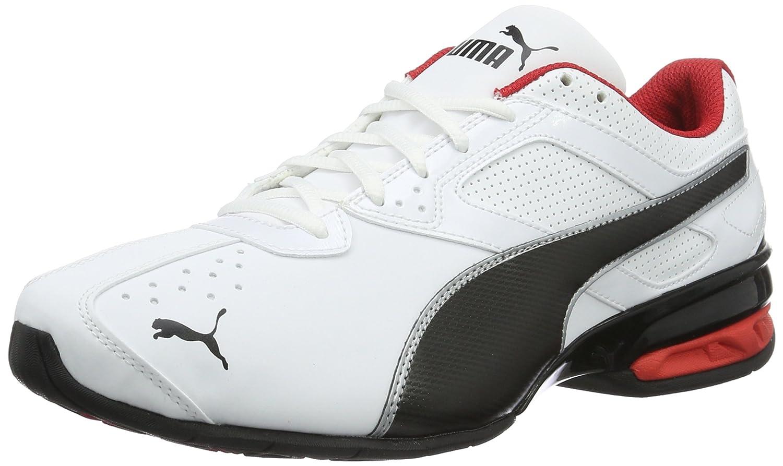 Puma Tazon 6 FM, Zapatillas de Entrenamiento para Hombre 40.5 EU|Blanco (White-black-silver)