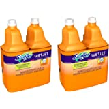 Swiffer Wet Jet Multi Purpose Solution ldRmyRW, Sweet Citrus & Zest Scent, 1.25-Liter Bottles (Pack of 4)