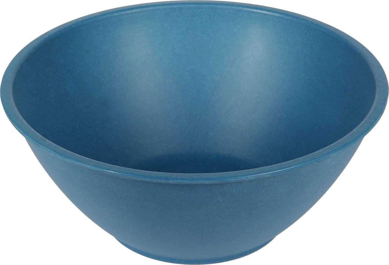 EcoSoulife EBW13026N 128 oz Large Bamboo Salad Bowl (N)-Biodegradable and Reusable Navy BlueRiver Trading Ltd.