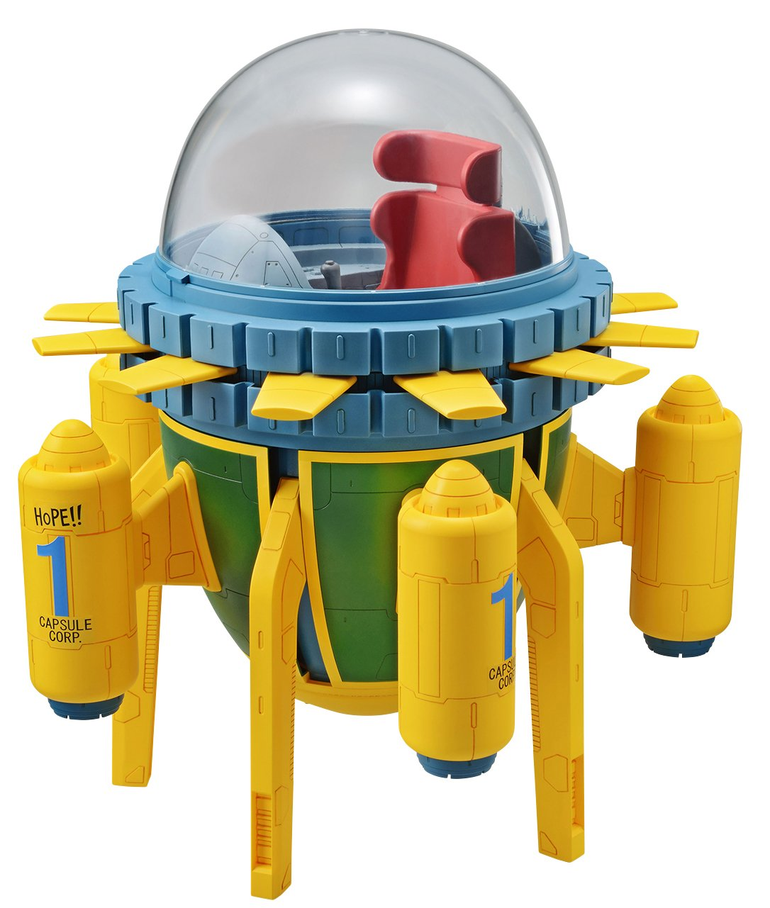 Bandai Hobby Figure-Rise Mechanics Trunks Time Machine Dragon Ball Z Maquina del Tiempo Maqueta [Requiere Montaje] 300mm Bluefin Distribution Toys us toys BAN216395