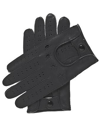 56a25585c240a Fratelli Orsini Men's Handsewn Deerskin Driving Gloves Size 7 Color Black