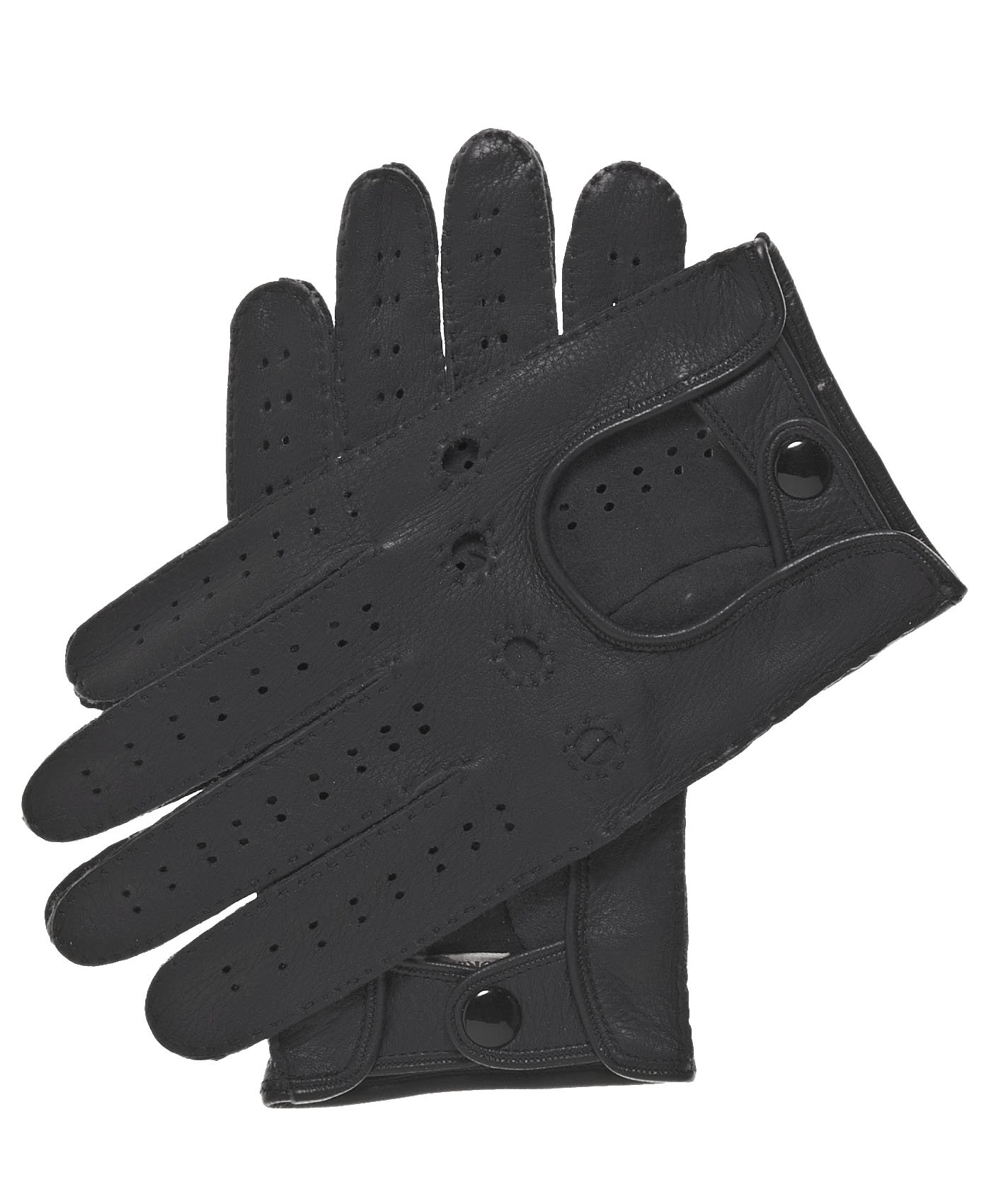 Fratelli Orsini Men's Handsewn Deerskin Driving Gloves Size 9 Color Black
