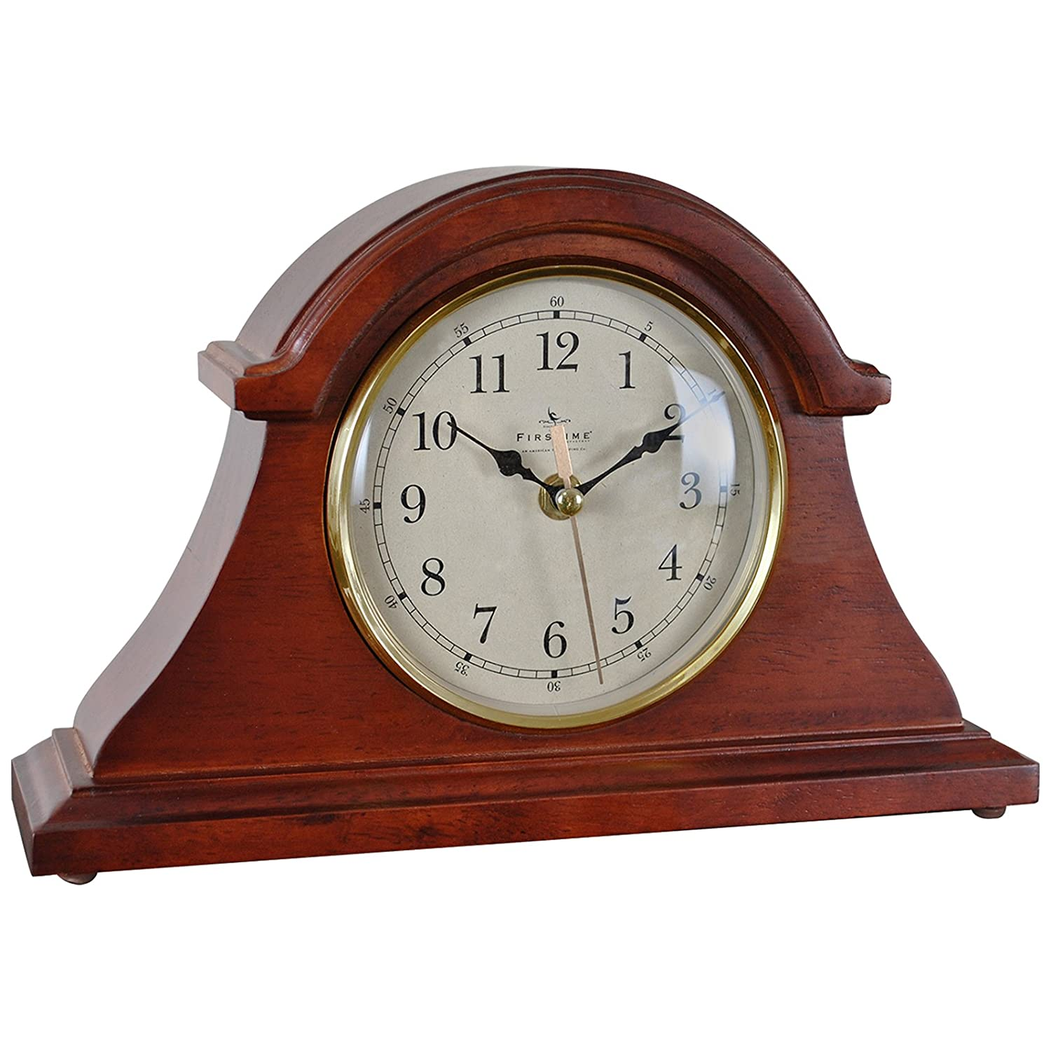 FirsTime Brownstone Napoleon Tabletop Clock FirsTime & Co. 66091