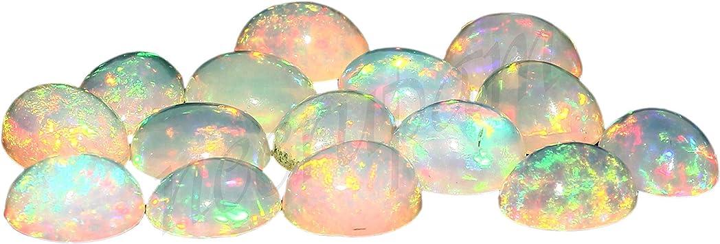 Ethiopian Opal 3.5  mm Great stone Multy Color Fire Strong Fire size 8x8  mm height welo Ethiopian Opal Black Opal Fine Cut Round