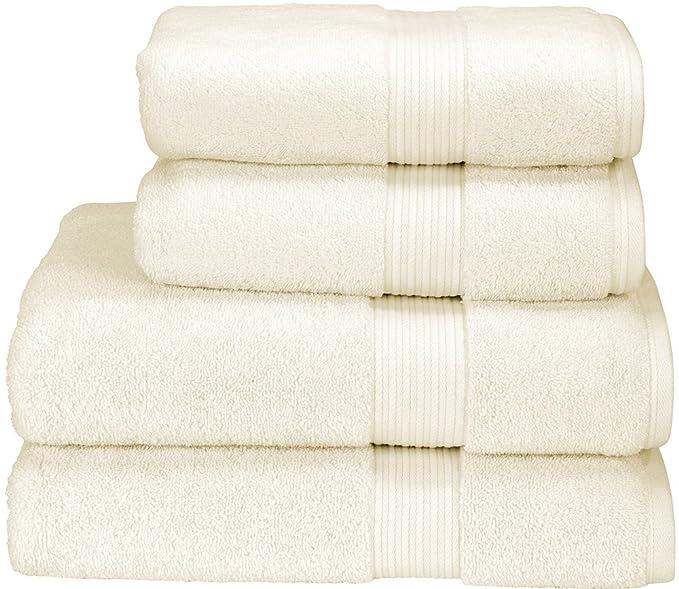Christy toallas de baño 100% Supima algodón Supreme Hygro toalla de invitados, un tamaño