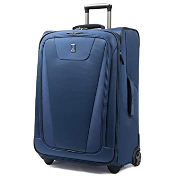 2544e40aa Amazon.com | Travelpro Maxlite 4 Expandable Rollaboard 26 Inch Suitcase,  Blue | Carry-Ons
