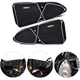 KEMIMOTO RZR Door Bags for Polaris RZR XP 1000 900XC S900 Passenger And Driver Side Storage Bag with Knee Protection