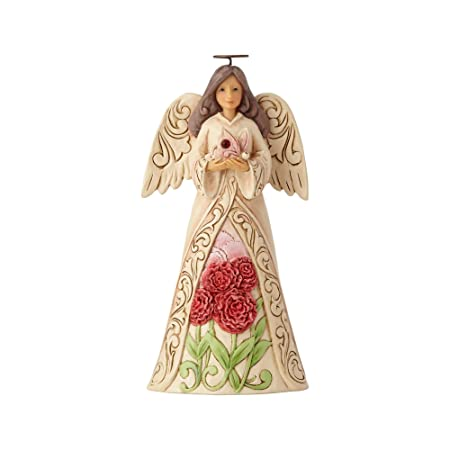 Enesco Jim Shore Heartwood Creek January Angel