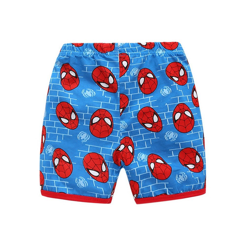 Meteora Spiderman Cartoon Pajamas Short Set for Boys