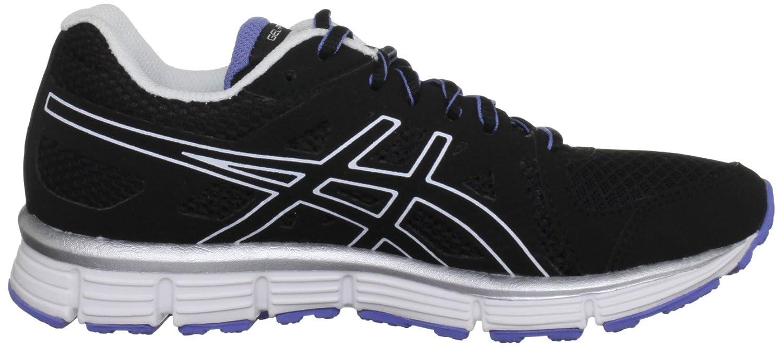 ASICS GEL-ATTRACT - Zapatillas de correr de material sintético mujer, color negro, talla 35.5: Amazon.es: Zapatos y complementos