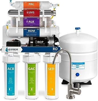 Sistema de filtración de ósmosis inversa ultravioleta alcalina ...