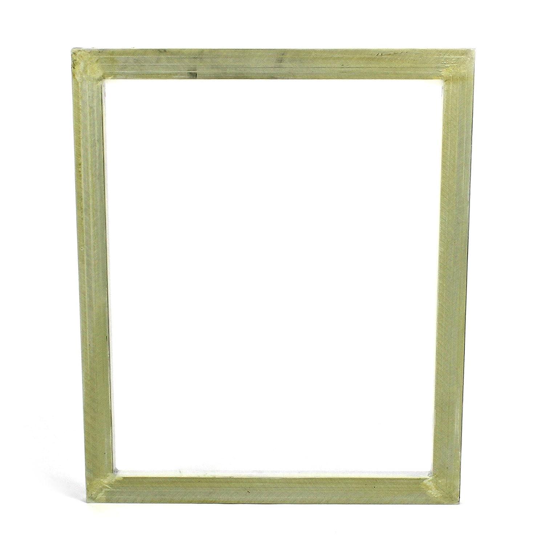 Commercial Bargains 4 Pack Aluminum Silk Screen Printing Press Screens 110 White Mesh 24