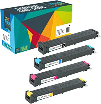 On-Site Laser Compatible Toner Replacement for Sharp MX-31NTBA Black 3100N Works with: MX 2600N