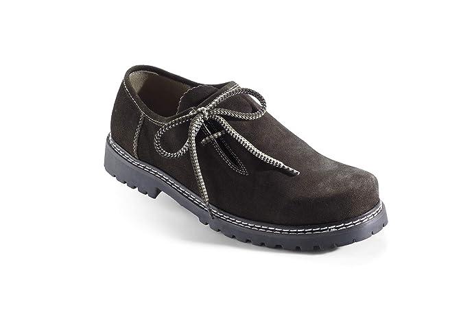 Trachtenschuhe HaferlschuheTrachten Lederschuhe Schuhe Wildleder Braun Gr 45