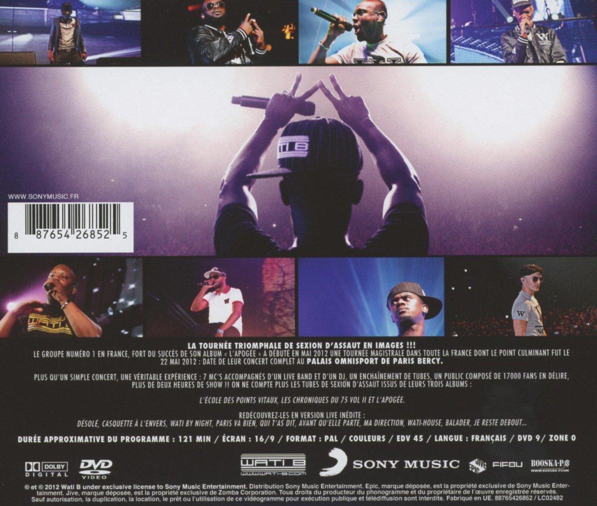 dvd sexion dassaut bercy