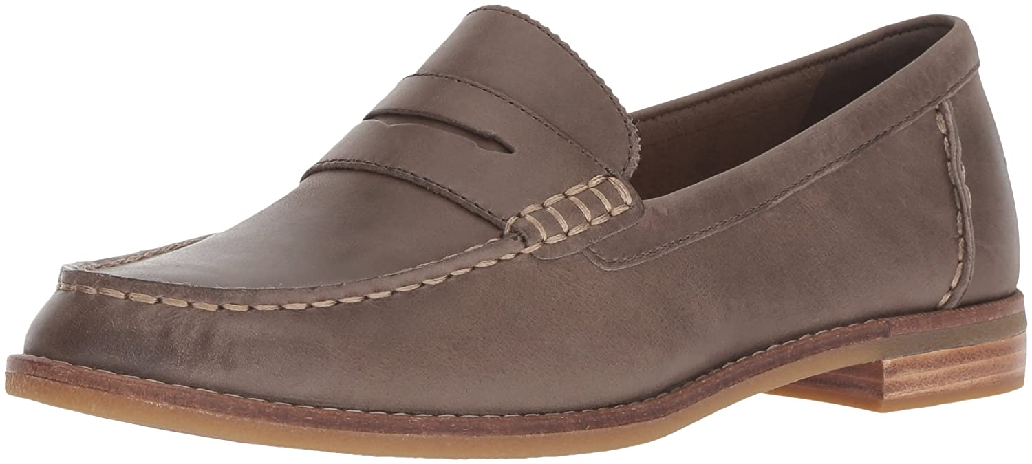 Dark Taupe Sperry Top-Sider Women's Seaport Penny Loafer