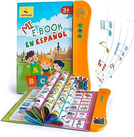 Libro Electrónico de Sonido en Español Juguetes de Aprendizaje ...