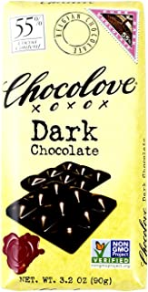 product image for Chocolove Chocolate Bar, 55% Dark, 3.2 Ounce (Pack of 12)
