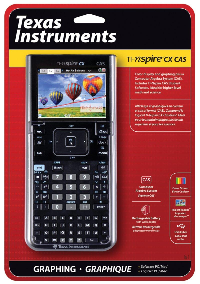 galleon texas instruments nspire cx cas graphing calculator. Black Bedroom Furniture Sets. Home Design Ideas