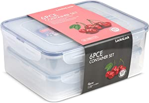 Lock & Lock Food Storage Set 6 Piece