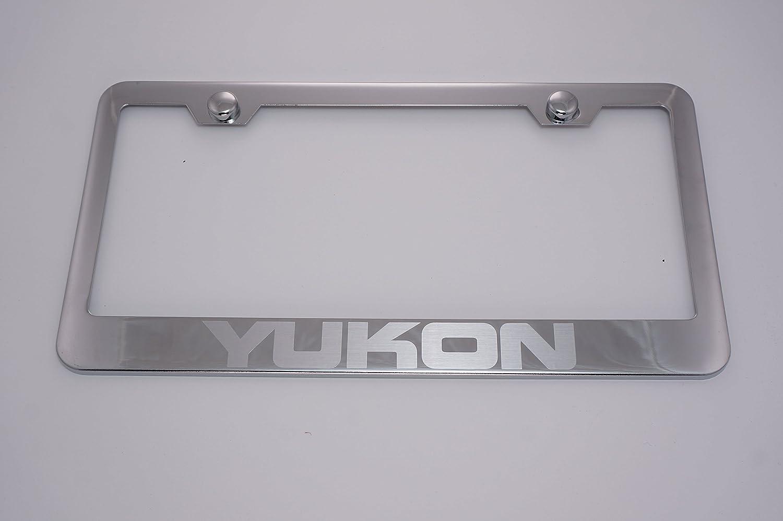 Yukon License Plate Frame Eurosport Daytona Inc. GMC