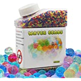 Water Beads, 30,000 Colourful Beads for Orbeez Foot Spa Refill, Sensory Toys & Plant Wedding Decoration