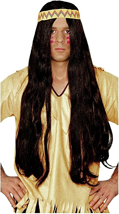 LONG BLONDE HAIR HIPPY 1960S ADULT WOMENS WIG COSTUME ACCESSORY