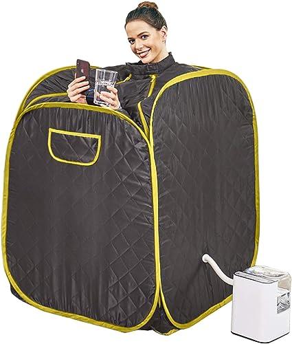 Plohee Portable Steam Sauna 2.5L Full Body Personal Therapeutic Sauna