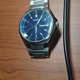 Amazon シチズン Citizen 腕時計 Attesa アテッサ Eco Drive エコ ドライブ 電波時計 デイデイト表示 At6050 54l メンズ 国内メーカー 腕時計 通販