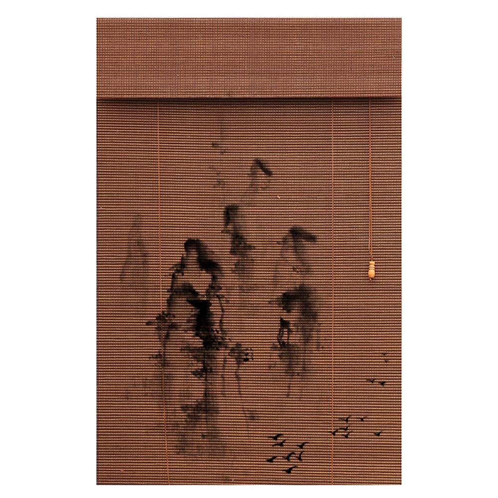 JIANFEI 竹ブラインド 家の装飾 光フィルタリング リビングルーム ティールーム 5色 、12サイズ カスタマイズすることができます (色 : 1#, サイズ さいず : 90x180cm) 90x180cm 1# B07Q8T6RZY