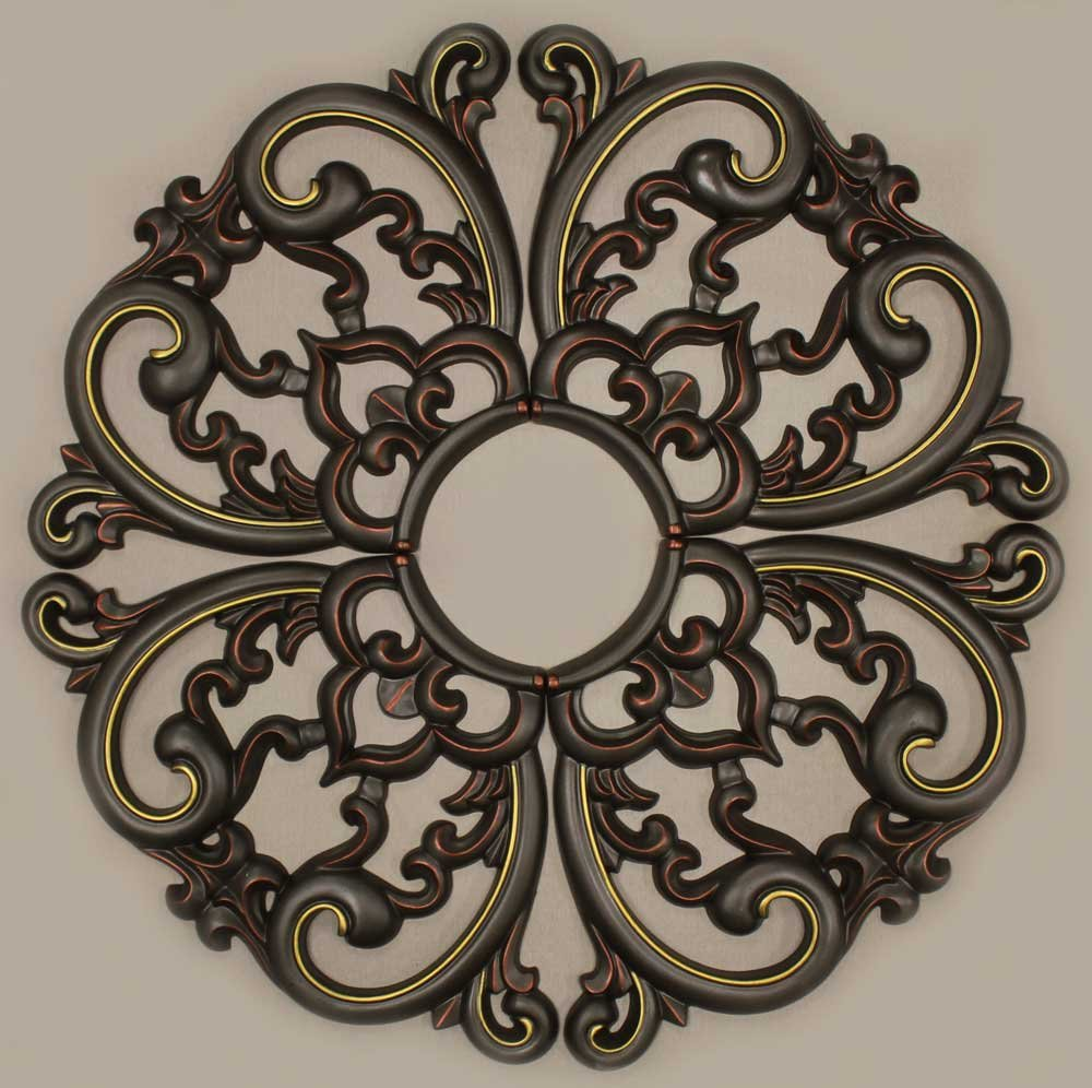 MD-7099 Decorative Ceiling Medallion (Fall Bronze) by DreamWallDecor