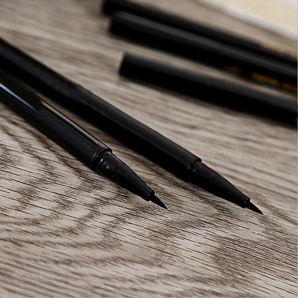 Pevor 2 In 1 Automatic Double-Headed Waterproof Eyeliner Pencil Eyebrow Makeup Best Eyebrow Pencil Long-Lasting Waterproof Eye Makeup Tools