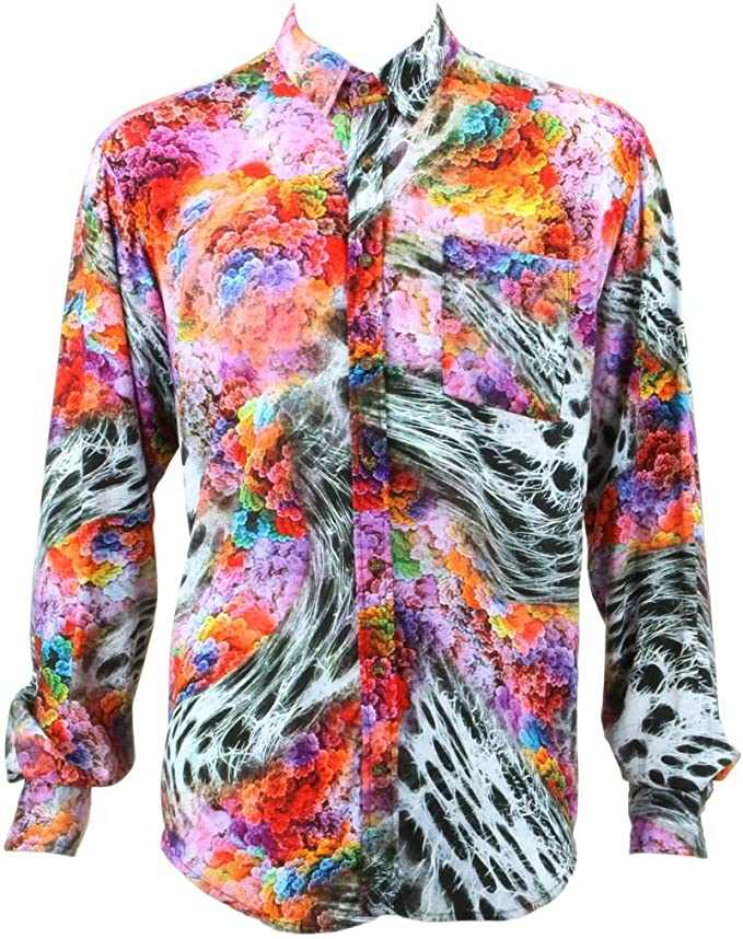 Loud Originals Regular Fit – Camisa de manga larga, multicolor de brócoli psicodélica: Amazon.es: Ropa y accesorios