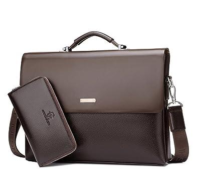 980d9b08b2e82 Mioy élégant Sac à Bandoulière en Cuir Pour Homme Décontracté Messenger Bag  Sac à main d