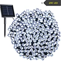 RockBirds 72ft 22M 200 Solar String Lights Certified Outdoor String Lights