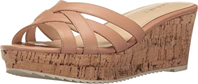 44287d549e7 Nine West Women s Caserta Natural Leather Wedge