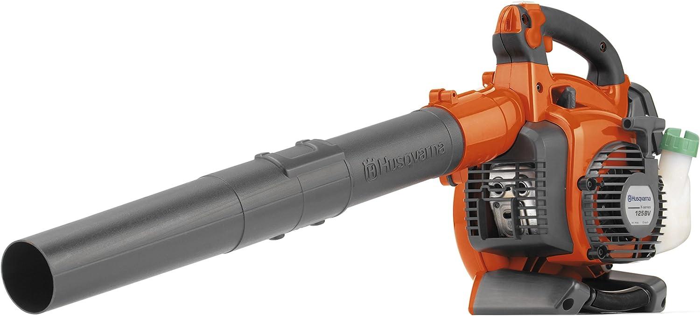 Husqvarna 125BVx - Soplador y aspirador de hojas a gasolina (4,35 ...