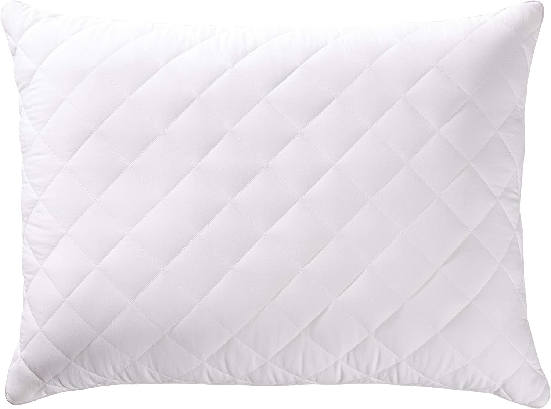 AmazonBasics Customizable Down-Alternative Pillow - Pack of 2, Standard