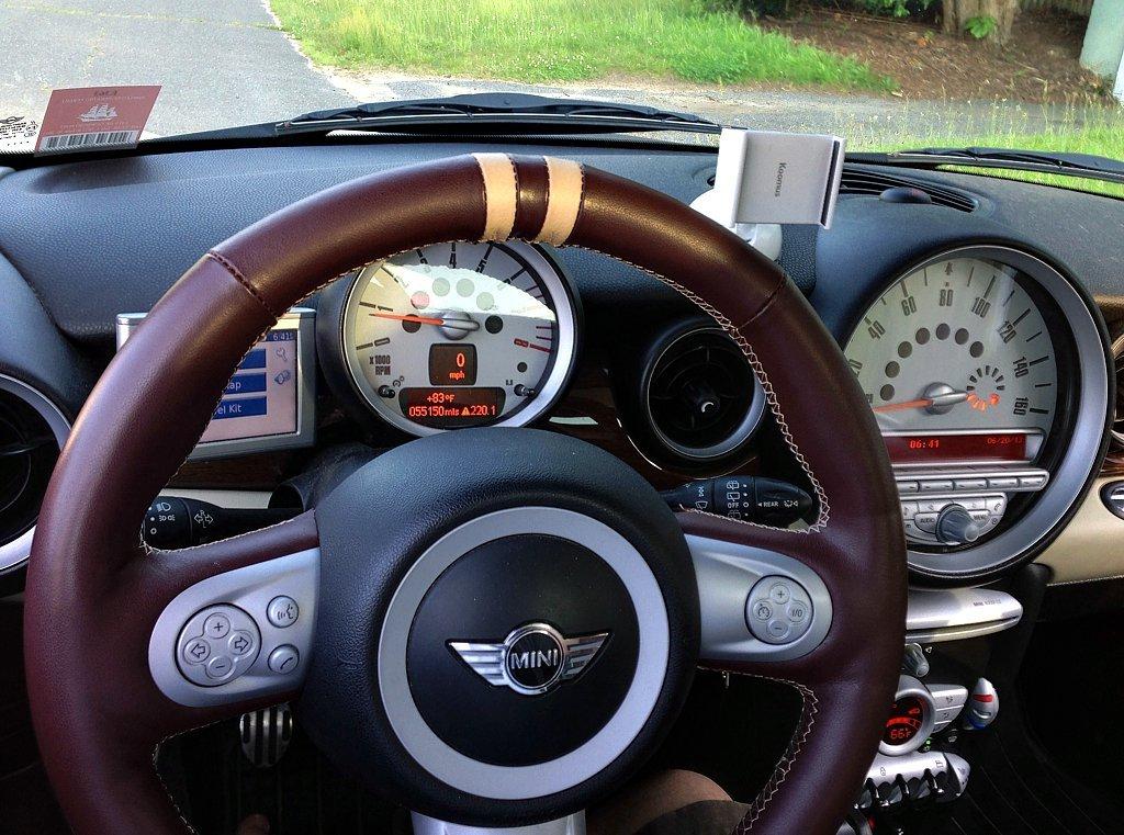 Amazon.com: RedlineGoods MINI Cooper 2007-15 cubierta del volante de: Automotive