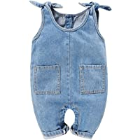 Get Wivvit Girls Baby Denim Short Dungaree Romper /& T-Shirt Set Sizes from Newborn to 3 Years