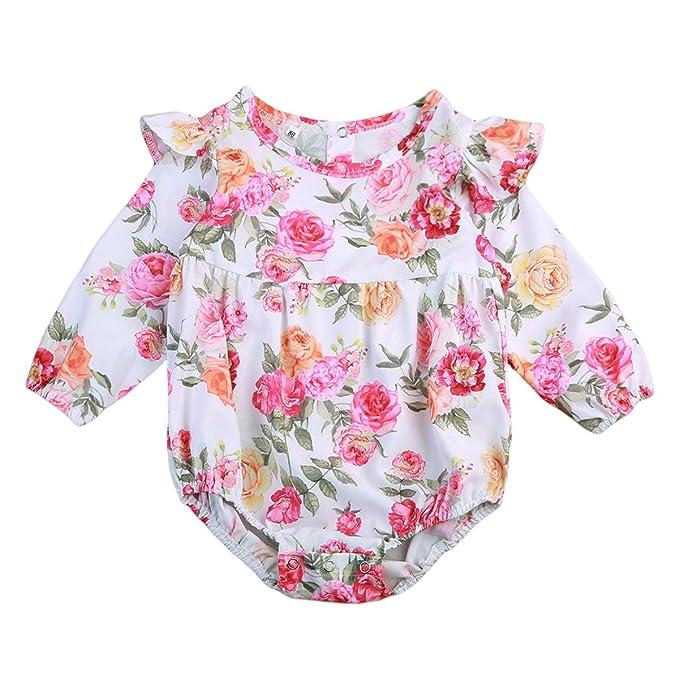 Amazon.com: Mialoley - Traje de neonato para bebé, chica o ...
