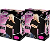 Suzanne Somers 3 Way Poncho, Black Small - Large