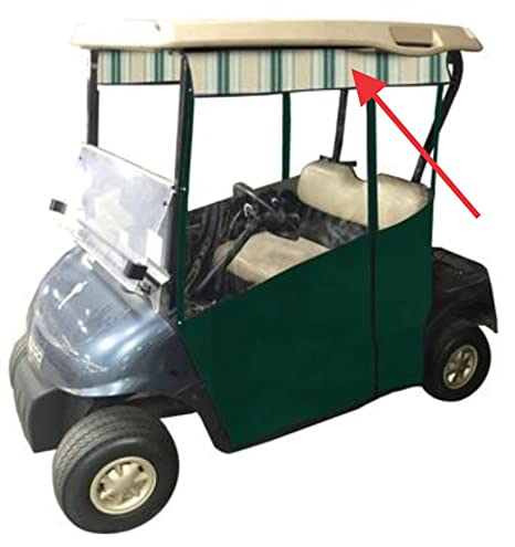 Amazon.com : Stripe Valance for Track-Style Golf Cart Enclosure in on golf bag color chart, yamaha drums color chart, auto paint color chart, ez go color chart, ping golf clubs color chart, club car color chart, yamaha guitar color chart,