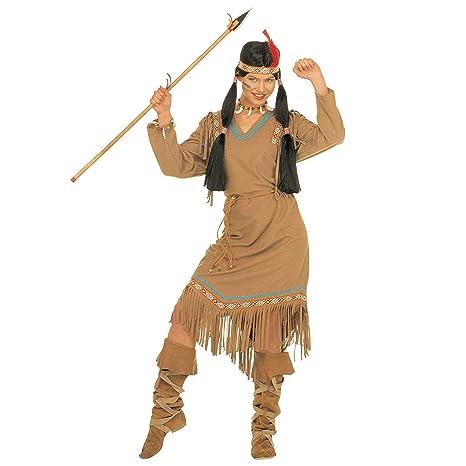 fb1ab63ea2ffe WIDMANN Desconocido Disfraz de india para mujer  Amazon.es  Juguetes ...