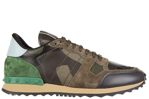 Valentino Garavani Zapatos Zapatillas de Deporte Hombres Verde EU 39.5 JY0S0723TCC K22: Amazon.es: Zapatos y complementos